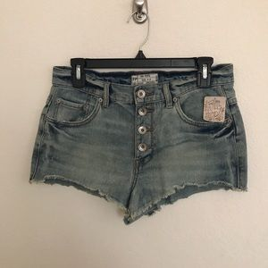 Free People NWT High Rise Shorts
